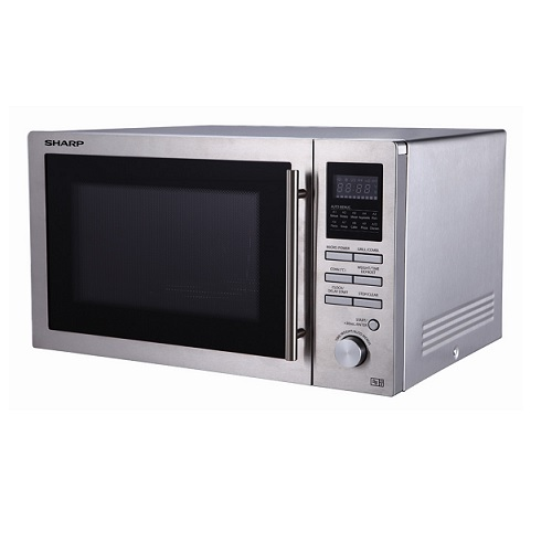 sharp r82stma 25 litre 900w microwave combination oven. Black Bedroom Furniture Sets. Home Design Ideas