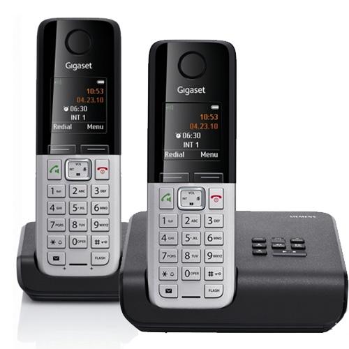 siemens gigaset c300a duo twin digital cordless phone answer machine ebay. Black Bedroom Furniture Sets. Home Design Ideas