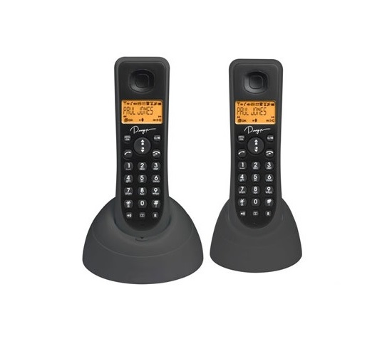 Binatone designer 1805 twin digital cordless phone handsfree speakerphone ebay - Designer cordless home phones ...