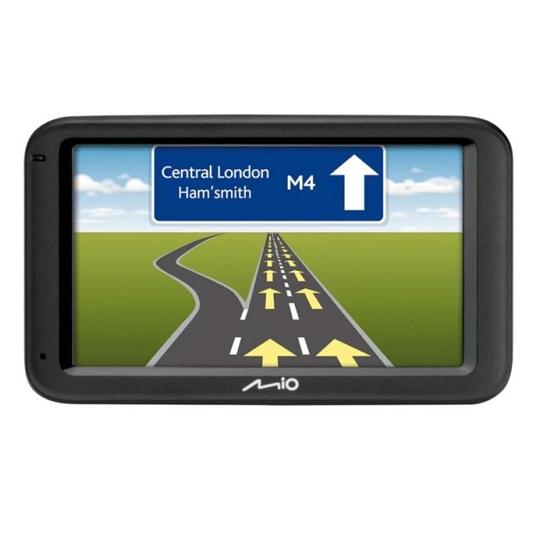 MIO MOOV M616 GPS SAT NAV SYSTEM UK & ROI 5 INCH TOUCH SCREEN