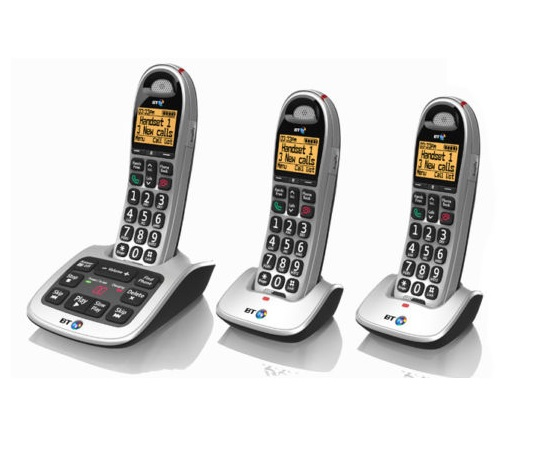 large button cordless phone with answering machine