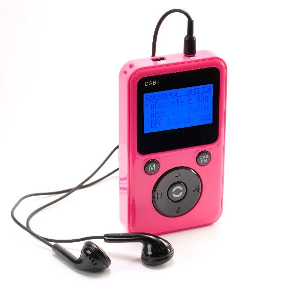 portable pocket personal handheld dab digital dab fm radio mp3 player pink ebay. Black Bedroom Furniture Sets. Home Design Ideas