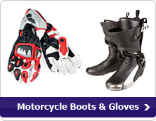 Motorcycle Boots &amp; Gloves
