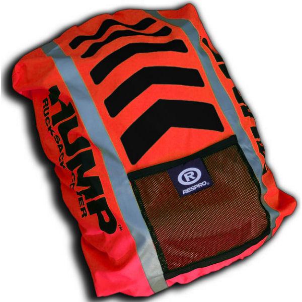 RESPRO® HI-VIZ HUMP COVER PACK RUCKSACK WATERPROOF RED Enlarged Preview