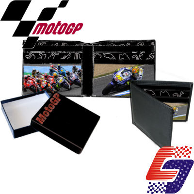 OFFICIAL MotoGP VALENTINO ROSSI #46 MENS LEATHER WALLET Enlarged Preview