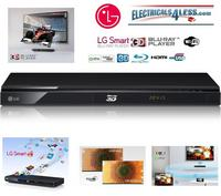 View Item LG Network 3D Blu-ray Full HD Dvd Player with Built in WiFi Connectivity Divx USB HDMI 1080P BD670