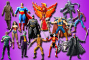 COMIC BOOK TOYS
