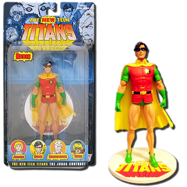 Teen Titans Toys Action Figures : Dc direct new teen titans series robin inch action
