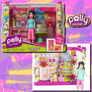 POLLY POCKET - DESIGNABLES - CANDY SHOP - MATTEL Preview