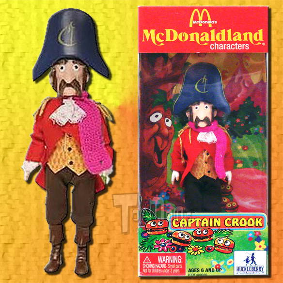 mcdonalds mcdonaldland 1   captain crook   huckleberry