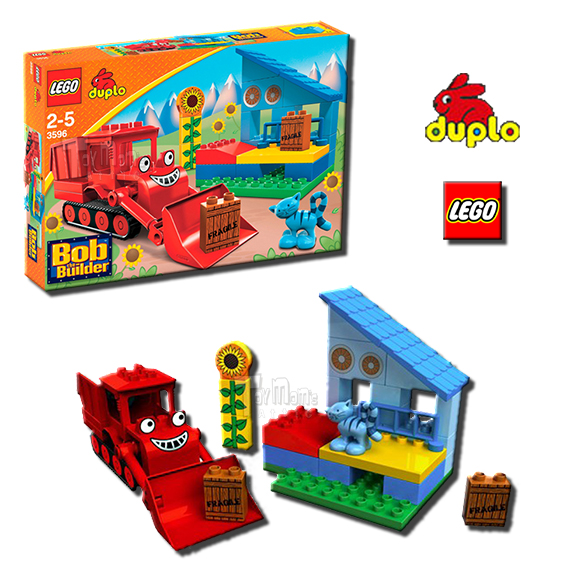lego duplo bob the builder muck can do it 3596 ebay. Black Bedroom Furniture Sets. Home Design Ideas