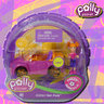 View Item POLLY POCKET - POLLY WHEELS #3 GLITTER HOT PINK-MATTEL