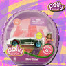 View Item POLLY POCKET - POLLY WHEELS #6 SILVER SHNE -MATTEL