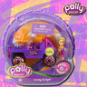View Item POLLY POCKET - POLLY WHEELS #4 CLEAR COOL - MATTEL