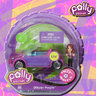View Item POLLY POCKET - POLLY WHEELS #7 GLITZER PURPLE - MATTEL