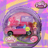 View Item POLLY POCKET - POLLY WHEELS #8 SPLASHIN' PINK - MATTEL