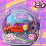 View Item POLLY POCKET - POLLY WHEELS #11 SHINE 'N RED - MATTEL
