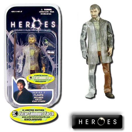 View Item Heroes Series 2 Claude Phasing Variant Action Figure EE Exclusive - Mezco Toyz