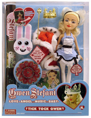 GWEN STEFANI FASHION DOLLS SERIES 1 - TICK TOCK GWEN Preview
