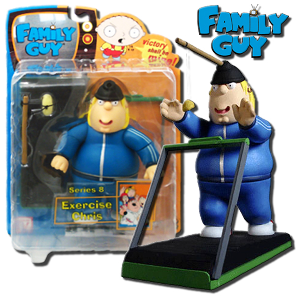 Family Guy Toys Toywiz : Family guy series exercise chris inch action figure