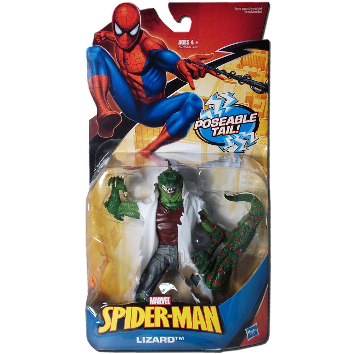 Spider man lizard toy