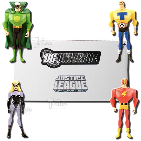 Dc Universe Justice League 4 Pack Justice Guild Action