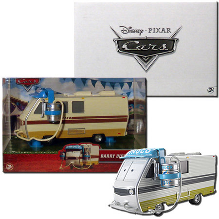 View Item DISNEY PIXAR CARS BARRY DIESEL - MATTY COLLECTOR EXCLUSIVE