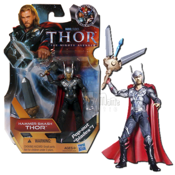 Thor Movie Hammer Smash Thor Action Figure 07 Hasbro