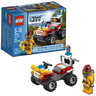 View Item LEGO CITY FIRE ATV - 4427