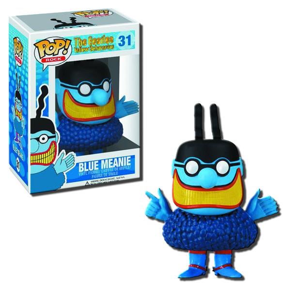 POP! Rocks The Beatles Yellow Submarine Blue Meanie Vinyl Toy Figure #31 - Funko