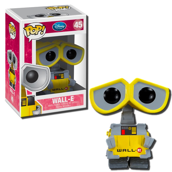 Funko Pop Disney Series 4 Wall E Vinyl Figure 45 Ebay