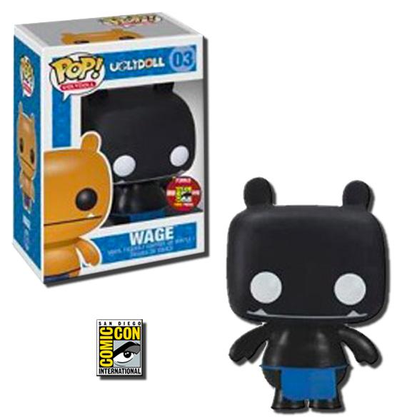 Pop Uglydolls Wage Vinyl Toy Figure Black Variant 2012