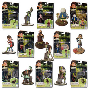 PARANORMAN 4-INCH ACTION FIGURES WITH BASES - COMPLETE SET OF 8 Preview