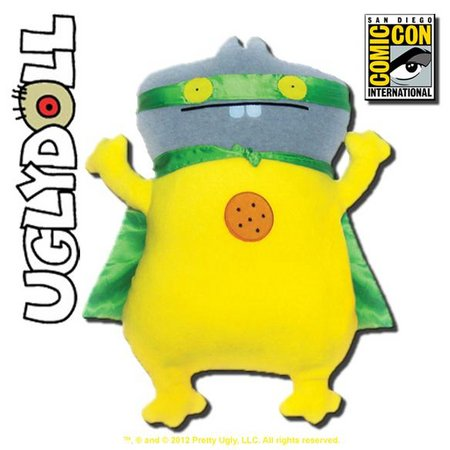 View Item UGLYDOLL CLASSIC SUPER POWER BABO 12-INCH PLUSH 2012 SDCC COMIC CON EXCLUSIVE