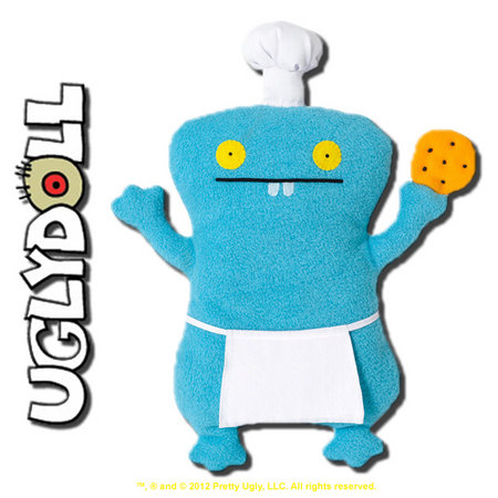 View Item UGLYDOLL CLASSIC COOKIE CHEF BABO 12-INCH PLUSH 2012 EDITION - GUND