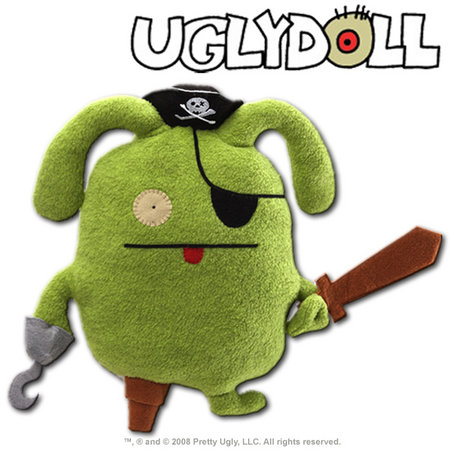 View Item UGLYDOLL CLASSIC PIRATE OX 12-INCH PLUSH 2012 EDITION - GUND