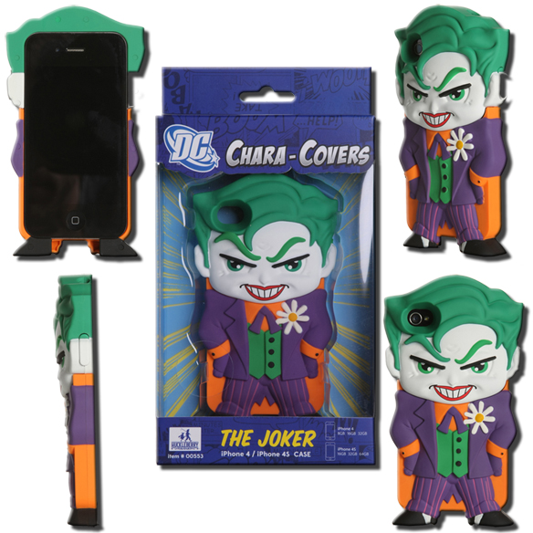 Dc Chara Cover Series 1 Joker Iphone 4 4s Cell Phone Case