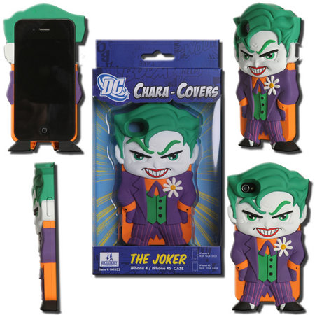 View Item DC CHARA-COVER SERIES 1 JOKER IPHONE 4/4S CELL PHONE CASE