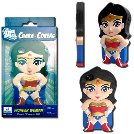 View Item DC CHARA-COVER SERIES 1 WONDER WOMAN IPHONE 4/4S CELL PHONE CASE