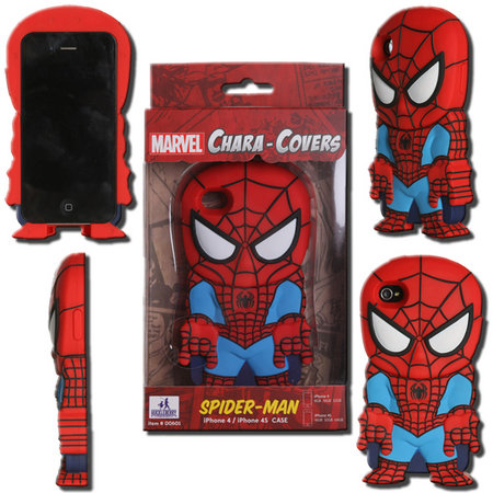 View Item MARVEL CHARA-COVER SERIES 1 SPIDER-MAN IPHONE 4/4S CELL PHONE CASE