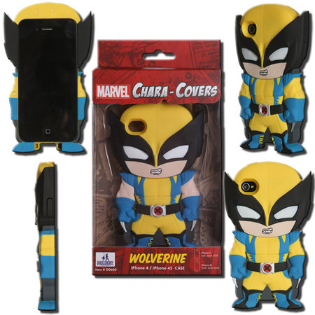 View Item MARVEL CHARA-COVER SERIES 1 WOLVERINE IPHONE 4/4S CELL PHONE