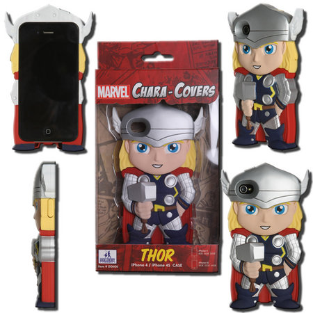View Item MARVEL CHARA-COVER SERIES 1 THOR IPHONE 4/4S CELL PHONE CASE