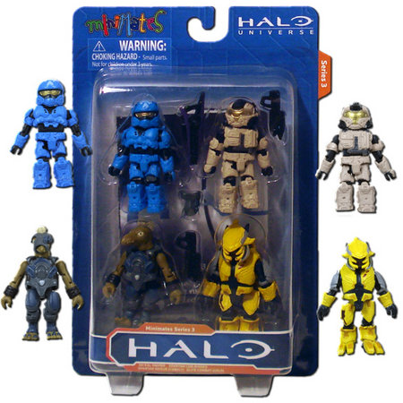 Halo Minimates Series 3 Halo Minimates 4 Pack Series 5