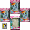 View Item MY LITTLE PONY CHARA-BRICKS RAINBOW DASH 7-INCH VINYL -  SET OF 4 - 2013 SDCC