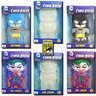 View Item DC COMICS CHARA-BRICKS - SET OF 6 - BATMAN & JOKER 7-INCH VINYL - 2013 SDCC