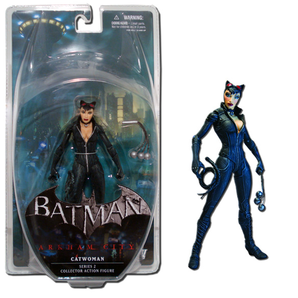 dc direct batman arkham city series 2 catwoman 6inch