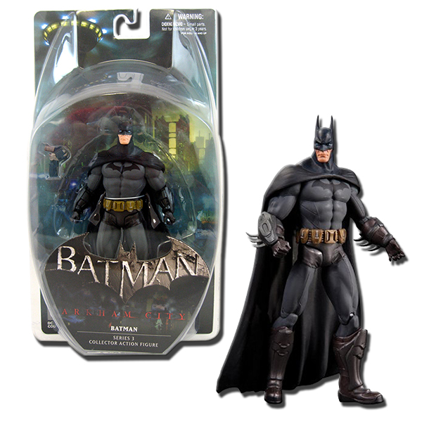 DC Direct Batman Arkham City Series 3 - Batman 6-Inch ...
