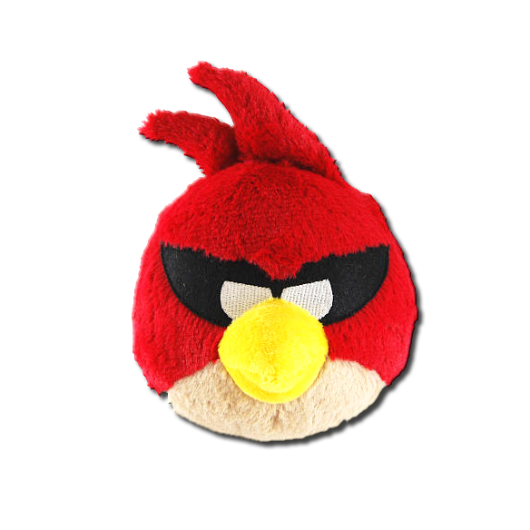 Angry Birds Toys With Sound : Angry birds space red bird inch plush toy with sound
