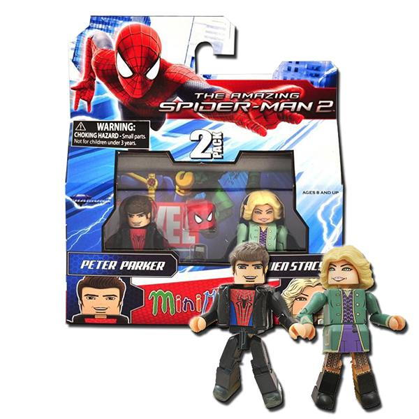 Spider Man Peter Parker In The Lego Incredibles Videogame: Marvel Minimates 56 The Amazing Spider-Man 2 Peter Parker