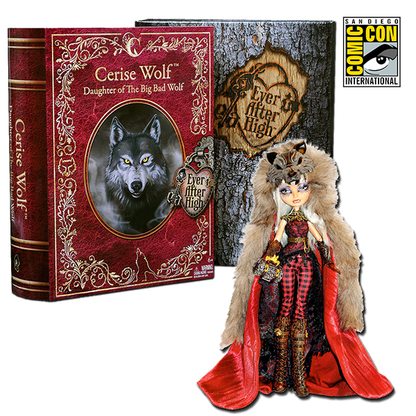 Ever After High Cerise Wolf 11-Inch Fashion Doll 2014 SDCC ...